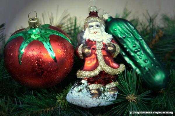 Weihnachts-Trio ... 3er Set besonders beliebter Weihnachtsfiguren
