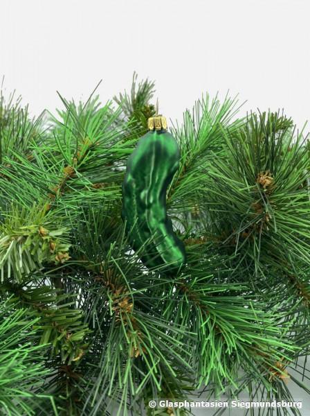 Weihnachtsgurke ca. 6 cm hoch