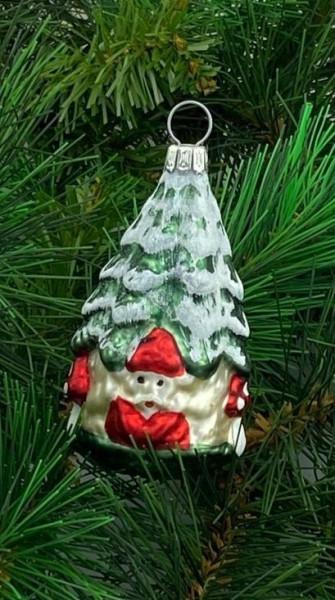 Weihnachtswichtel im Baum ca. 5,5 cm hoch