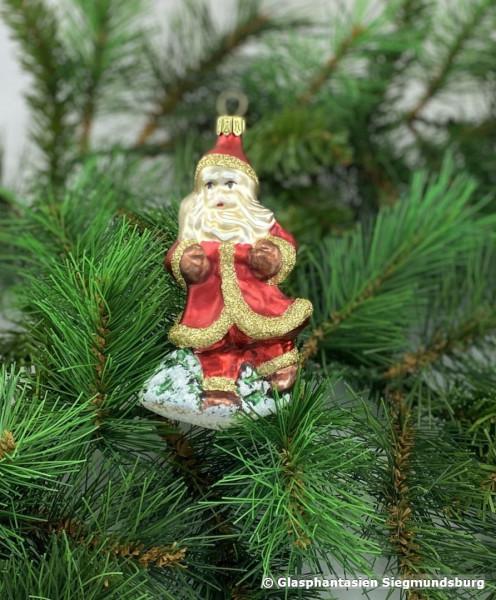 Weihnachtsmann, altdeutsch, nostalgisch ca. 10 cm hoch